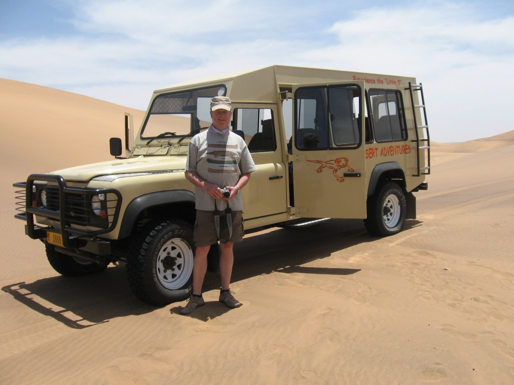 In Namibia 2008 (Photo by U. Gennert)